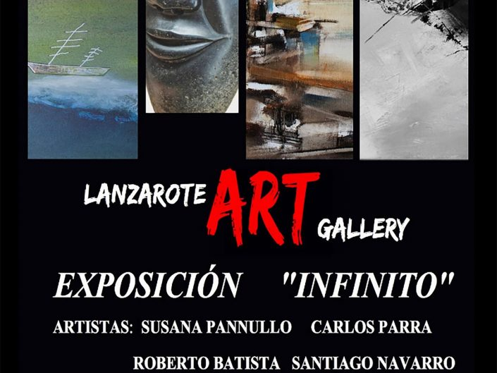 CONFÍN con Lanzarote Art Gallery en la Colectiva Infinito (1)