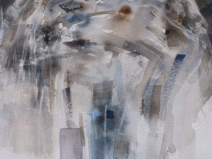 Awareness, 2015. Watercolor on paper, 35x29 cm