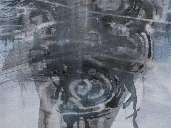Awareness, 2015. Watercolor on paper, 35x29 cm