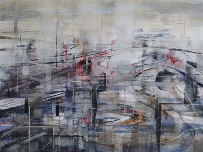Humanidad, 2014. Acuarela sobre papel, 50x65 cm
