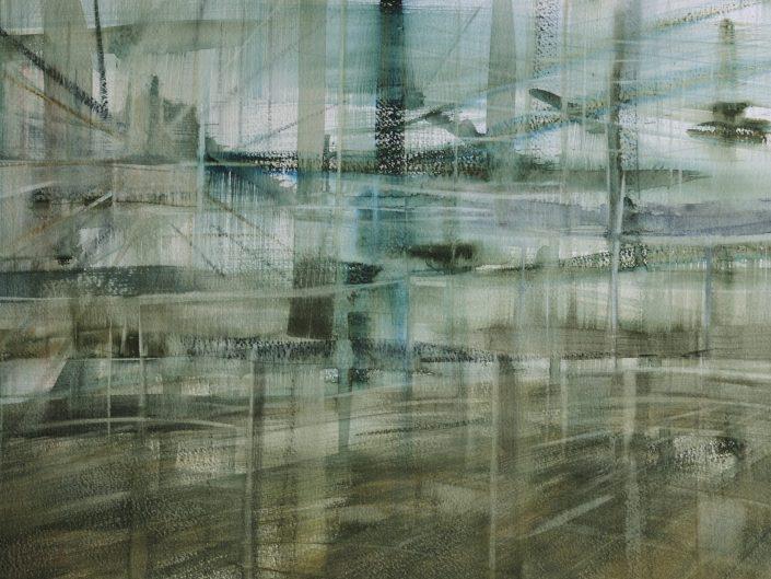 Memoria, 2014. Acuarela sobre papel, 32x50 cm