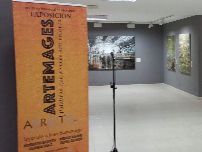 PASSAROLLA. Sala de Exposiciones El Charco. Arrecife, Lanzarote