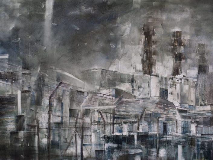 Revelaciones, 2015. Óleo sobre lienzo, 130x195 cm