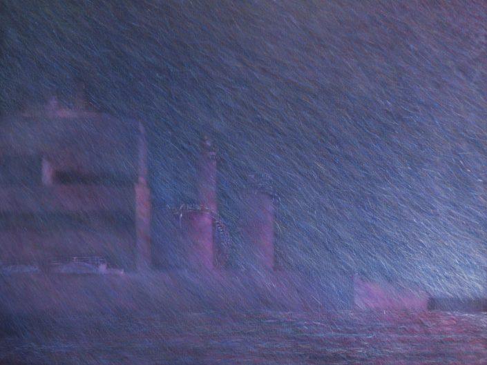 Sin título, 2002. Óleo sobre lienzo, 73x92 cm