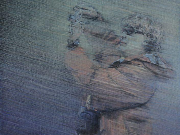 Sin título, 2010. Óleo sobre lienzo, 60x60 cm
