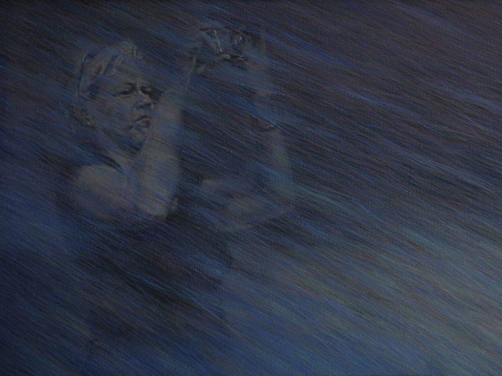 Sin título, 2011. Óleo sobre lienzo, 54x100 cm