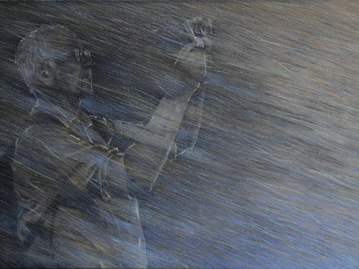 Untitled, 2011. Oil on canvas, 55x100 cm