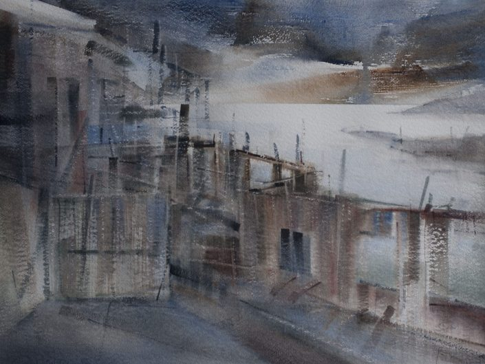 Untitled, 2015. Watercolor on paper, 53x72 cm