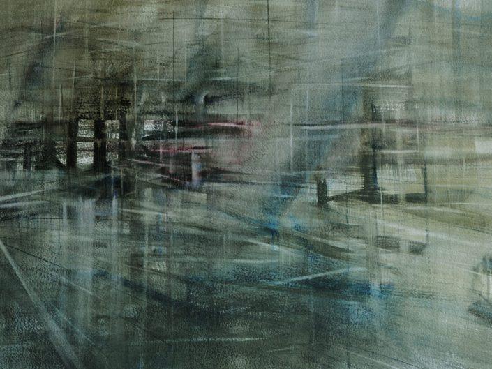 Uno, 2014. Acuarela sobre papel, 32x50 cm