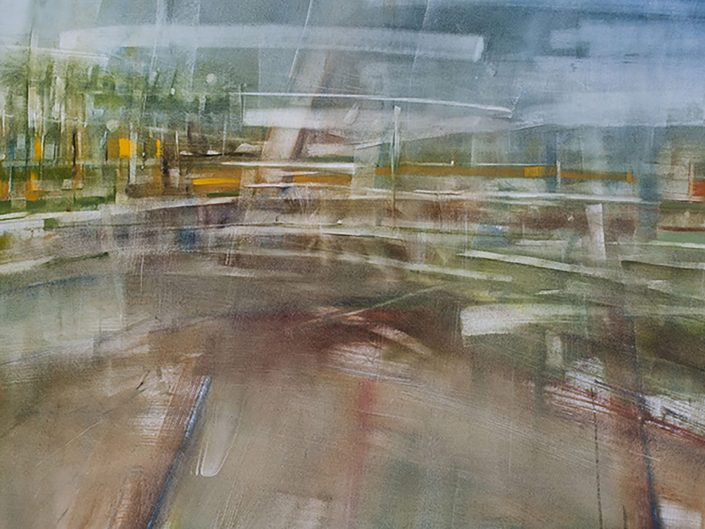0. Sin título, 2017. Óleo sobre lienzo, 59,5x 94 cm