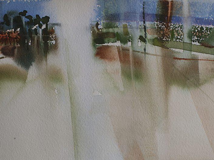 1. Sin título, 2017. Acuarela sobre papel, 17,5x25 cm