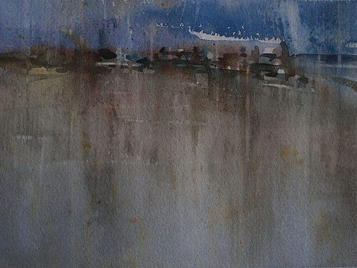 10. Sin título, 2017. Acuarela sobre papel, 17,5x25 cm