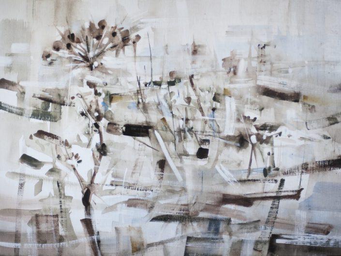 2. Untitled, 2018. Acrylic on wood, 61x83 cm