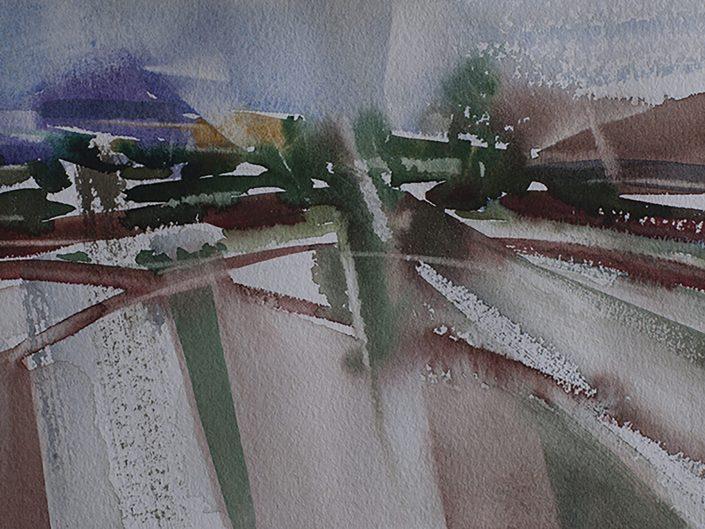 3. Sin título, 2017. Acuarela sobre papel, 17,5x25 cm