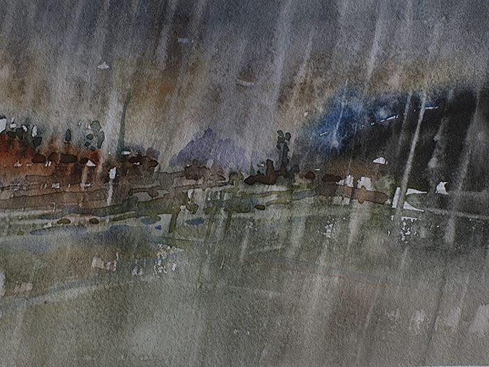 6. Sin título, 2017. Acuarela sobre papel, 17,5x25 cm