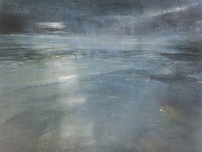 Sin título, 2019. Óleo sobre lienzo, 110x110cm
